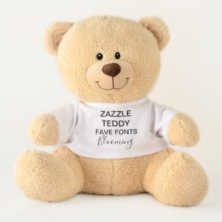 """Gewohnheit 17"""" Teddybär-Spielzeug-Schablone BLÜHEN Teddy"""