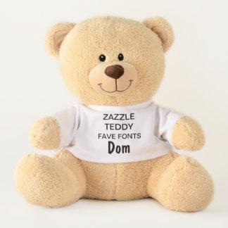 "Gewohnheit 17"" Teddybär-Spielzeug-Schablone DOM Teddy"