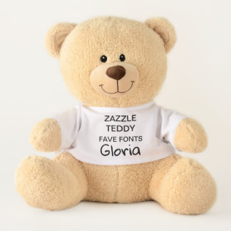 "Gewohnheit 17"" Teddybär-Spielzeug-Schablone GLORIA Teddy"