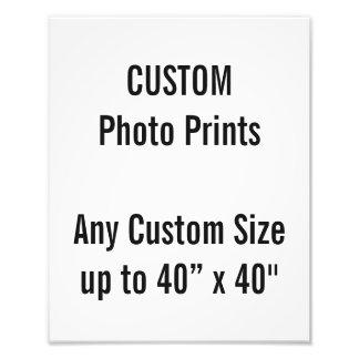 Gewohnheit 24 x 30 cm Foto-Druck-BRITISCHE Fotodruck