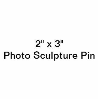 """Gewohnheit 2"""" x 3"""" Foto-Skulptur-Button Fotoskulptur Button"""