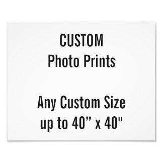 Gewohnheit 300 x 240mm Foto-Druck-BRITISCHE Fotodruck