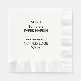 """Gewohnheit 6,5"""" geprägte papierserviette"""