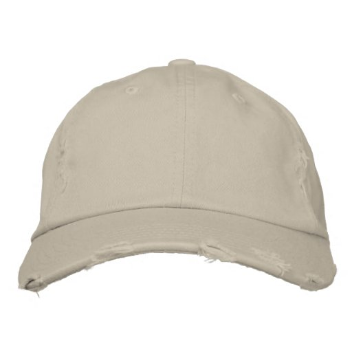 Stein District Threads Distressed Chino-Köper-Kappe Embroidered Hat