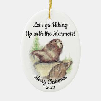 Gewohnheit datiertes Weihnachten, das Keramik Ornament