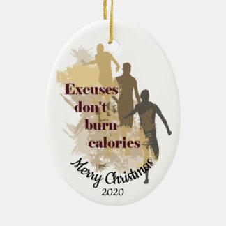 Gewohnheit datiertes Weihnachtsinspirierend Keramik Ornament