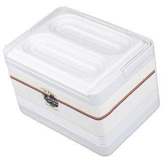Gewohnheit der besten Freunde des Regenbogens Igloo Kühlbox