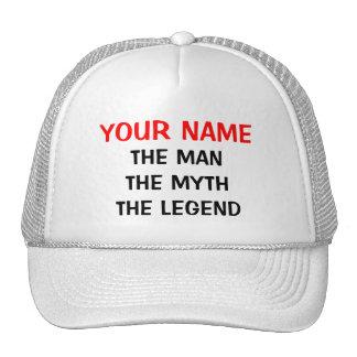 Gewohnheit der Mannmythos- Legendenhut Retro Cap