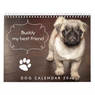 Gewohnheit des Hundekalender-2018 addieren Ihr Kalender