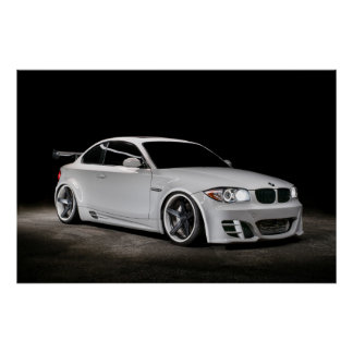 Gewohnheit eingesacktes Widebody BMW 1 Reihe Poster