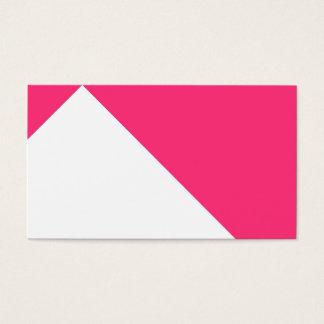 Gewohnheit farbiges bescheidenes Rosa Visitenkarte