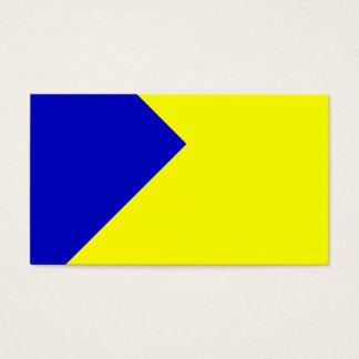 Gewohnheit gefärbt visitenkarte