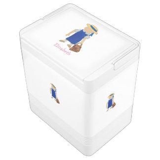 Gewohnheit genanntes Kleinkind-Wasser School Girl Kühlbox