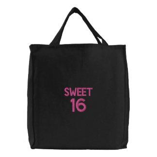 Gewohnheit gestickte Tasche, Bonbon 16, Bestickte Taschen