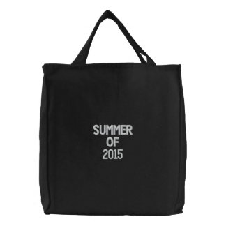 Gewohnheit gestickte Tasche, Sommer von 2015, Leinentasche