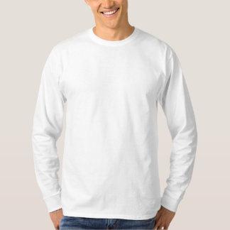 Gewohnheit gesticktes langes Hülsen-Shirt
