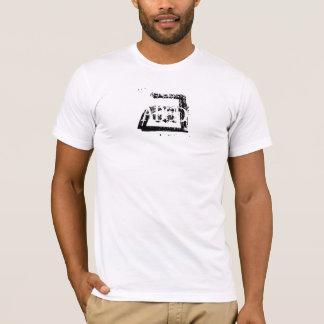 Gewohnheit gewaschenes heraus T-thirt T-Shirt