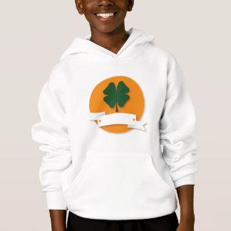 GEWOHNHEIT - Klee Ihr Text - Tag St. Patricks Hoodie