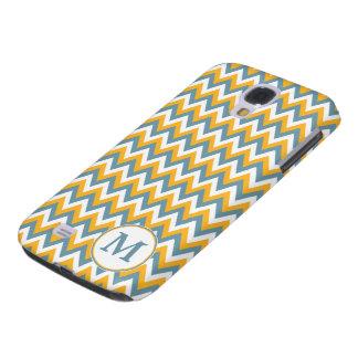 Gewohnheits-Hüllen des Zickzack/Zickzack-Musters Galaxy S4 Hülle