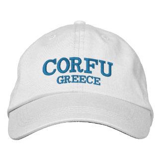 Gewohnheits-Hut Korfus Griechenland Bestickte Kappe