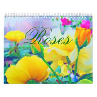 Gewohnheits-Kalender der Rosen-2018 Kalender