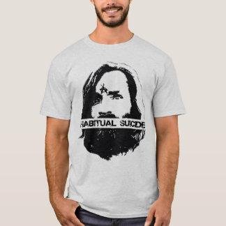 Gewohnheitsselbstmord-Anarchie T-Shirt