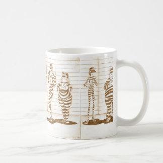 Gewöhnliche Verdächtigen Kaffeetasse