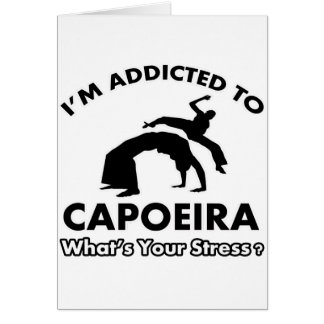 gewöhnt zum capoeira karte
