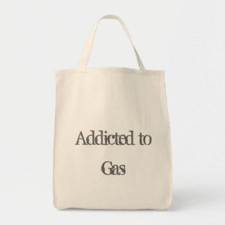 Gewöhnt zum Gas Einkaufstasche