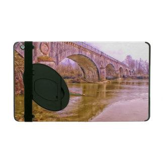 Gewölbte Brücke iPad Hüllen