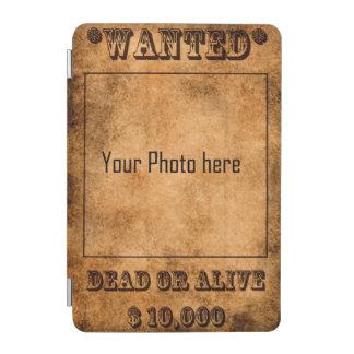 Gewollt, Tote oder lebendiges, Westerncowboy iPad Mini Cover