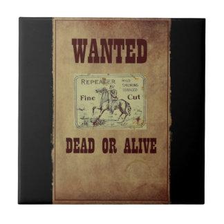 Gewollte Tote oder lebendig Fliese