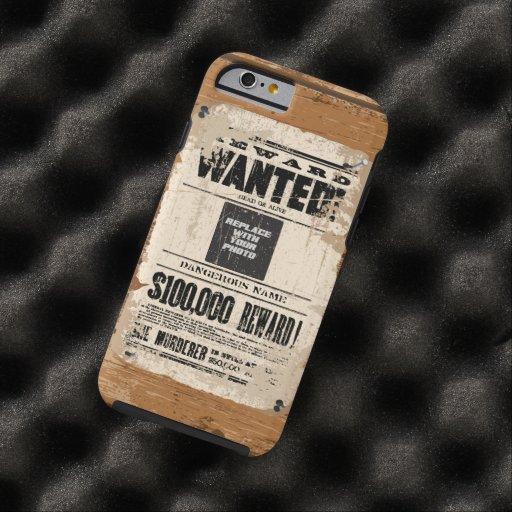 Gewollte Tote oder lebendig Tough iPhone 6 Hülle