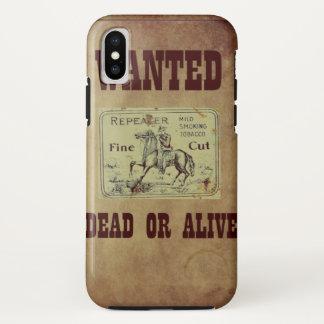 Gewollte Tote oder lebendig iPhone X Hülle