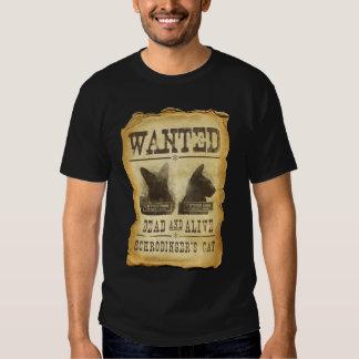 Gewollte Tote und lebendig.  Schroedingers Katze Hemden