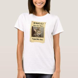 Gewollter das Plakat-T - Shirt des