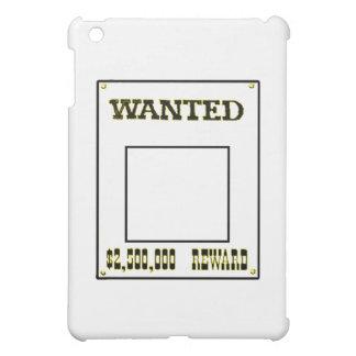 Gewolltes gelbes transp die MUSEUM Zazzle iPad Mini Cover