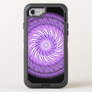 Gewundene Illusions-Mandala OtterBox Defender iPhone 8/7 Hülle