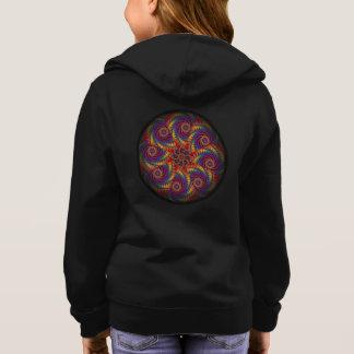Gewundene Kraken-psychedelische Hoodie