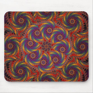 Gewundene Kraken-psychedelische Mousepad
