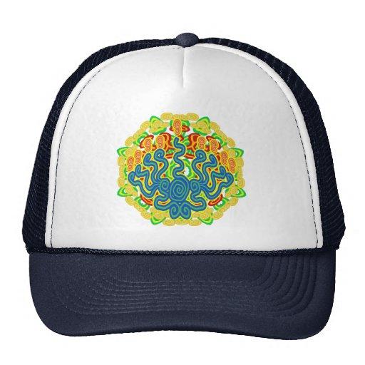 Gewundene Menorah Hüte Netzcap