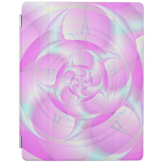 Gewundene Pincers im Rosa und im Blau iPad Smart Cover