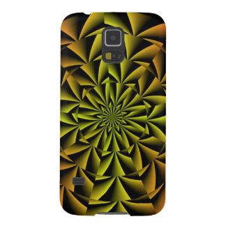 Gewundene Retro Kunst Samsung Galaxy S5 Cover