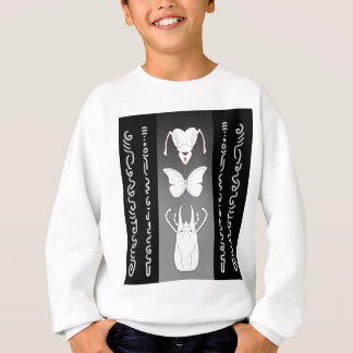 Gewundene Skizzen Sweatshirt