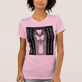 Gewundene Skizzen T-Shirt