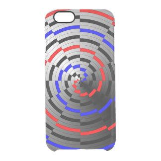 Gewundener Kegel Durchsichtige iPhone 6/6S Hülle