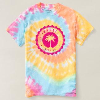 Gewundener Krawatten-T - Shirt Kauai-Brandungs-Co.