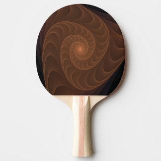 Gewundenes Fraktal Browns Tischtennis Schläger