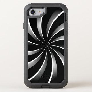 Gewundenes Muster OtterBox Defender iPhone 8/7 Hülle