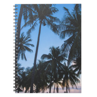 Gewundenes Notizbuch der tropischen Spiral Notizblock